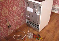 Подключение электроплиты. Михайловские электрики.