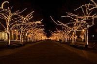 Подключение освещения зданий в Михайловске